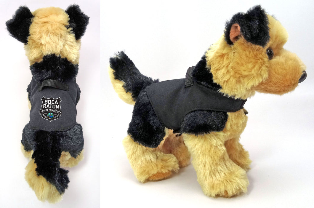 K-9 Plush German Shepherd Dog