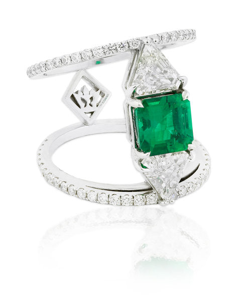 Rare Muzo Emerald Ring