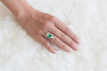 Load image into Gallery viewer, Rare Muzo Emerald Ring