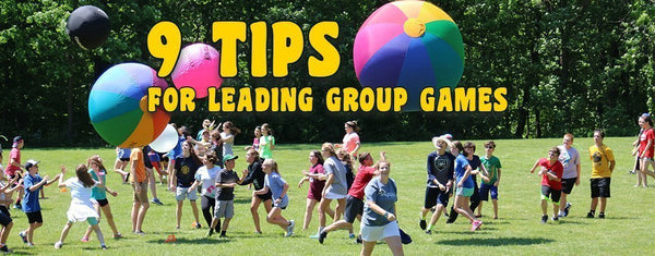 9 Tips on Leading Group Games