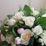 Cream White Vase Bouquet