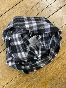 SCARF PLAID INFINITY
