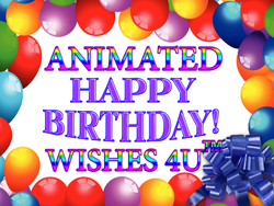 Animated Happy Birthday Wishes 4U