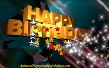 Load image into Gallery viewer, #330 Psychedelic Morpheus Happy Birthday Wishes