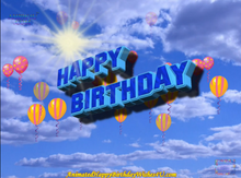 Load image into Gallery viewer, #333 God Bless You Happy Birthday Wishes