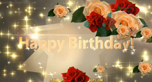 Load image into Gallery viewer, #354 Stars of Beauty Happy Birthday Wishes
