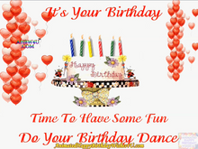 Load image into Gallery viewer, #374 Do Your Happy Birthday Dance Happy Birthday Wishes