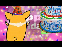 Load and play video in Gallery viewer, #310 Dog Dancing Happy Birthday Wishes