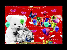 Load and play video in Gallery viewer, #118 FREE DOWNLOAD Happy Birthday GIF
