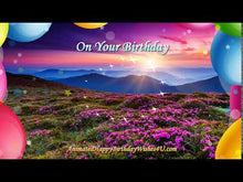 Load and play video in Gallery viewer, #347 Beautiful Sunrise Happy Birthday Wishes