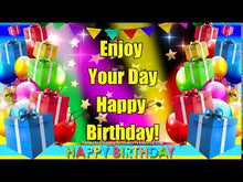 Load and play video in Gallery viewer, #337 Enjoy Your Birthday Happy Birthday Wishes