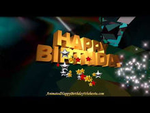 Load and play video in Gallery viewer, #330 Psychedelic Morpheus Happy Birthday Wishes