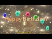 Load and play video in Gallery viewer, #354 Stars of Beauty Happy Birthday Wishes