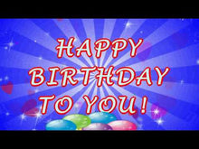 Load and play video in Gallery viewer, #210 FREE DOWNLOAD Happy Birthday 2u Words & Cake Wishes
