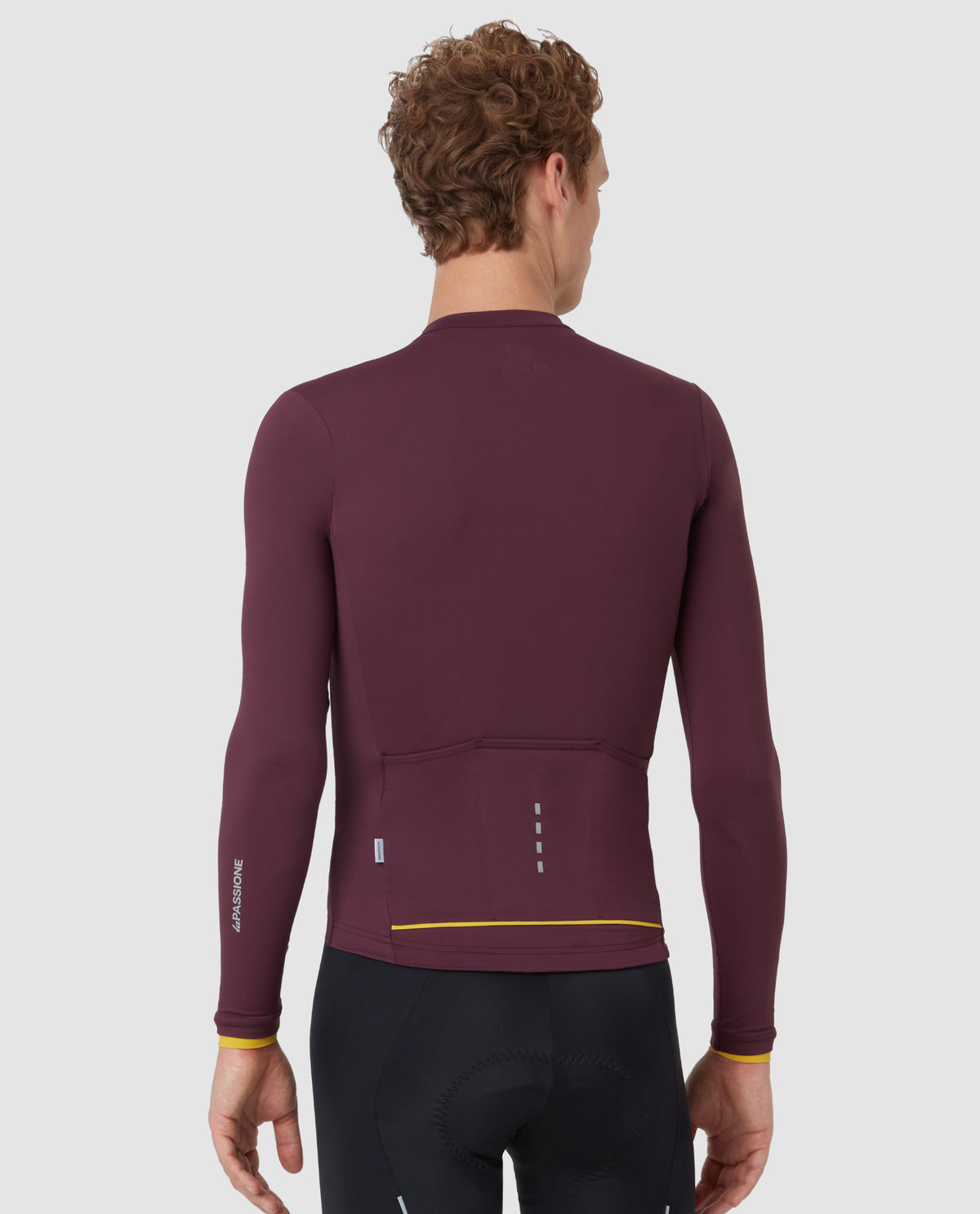 PSN Long Sleeve Jersey Midweight Burgundy