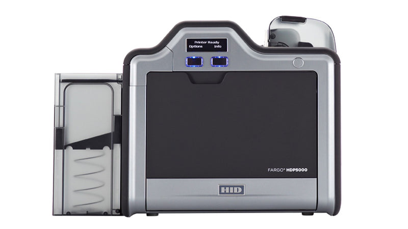 Qualities of the Fargo HDP5000 Single Sided ID Card Printer