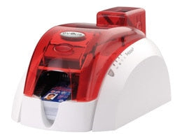 PBL401FRH Pebble 4 Evolis Fire Red Single-Sided Color ID Card Printer
