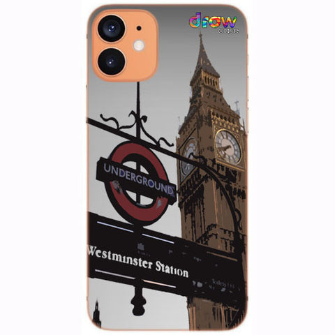 Cover iPhone 12 Mini London.
