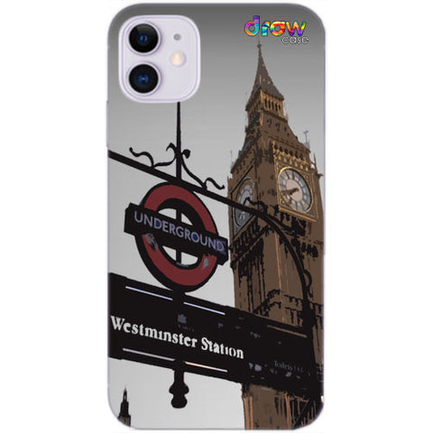 Cover iPhone 11 London.