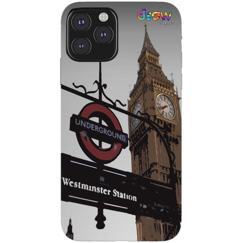 Cover iPhone 11 Pro London.