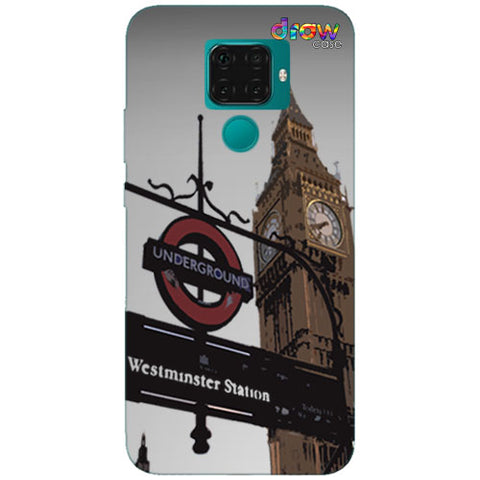 Cover Huawei Mate 30 Lite Big Ben