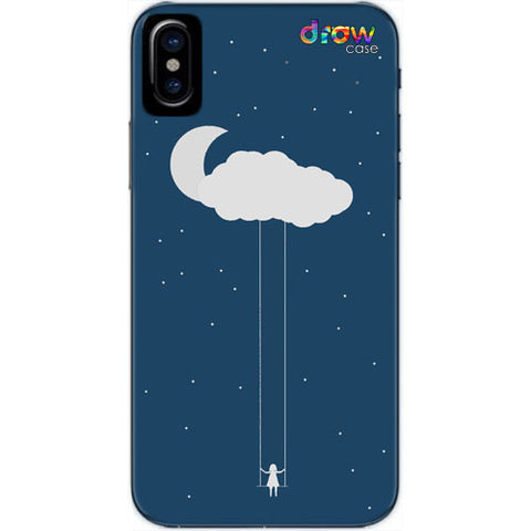 Cover iPhone Xs Max Cloud Girl