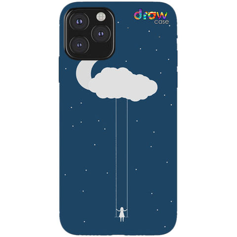 Cover iPhone 11 Pro Cloud Girl