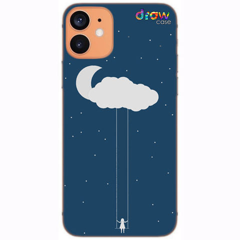 Cover iPhone 12 Mini Cloud Girl