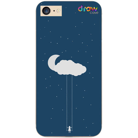 Cover iPhone 7/8/SE 2020 Cloud Girl
