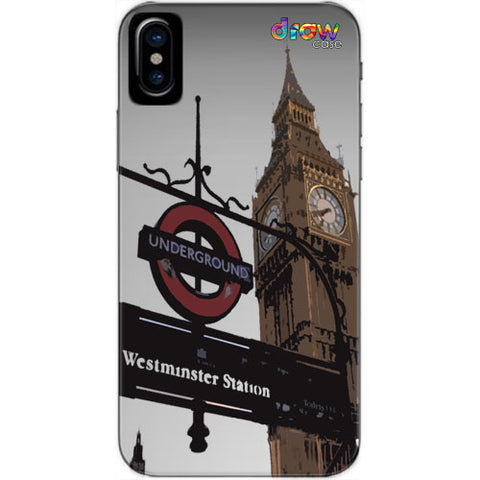 Cover iPhone Xs Max London.