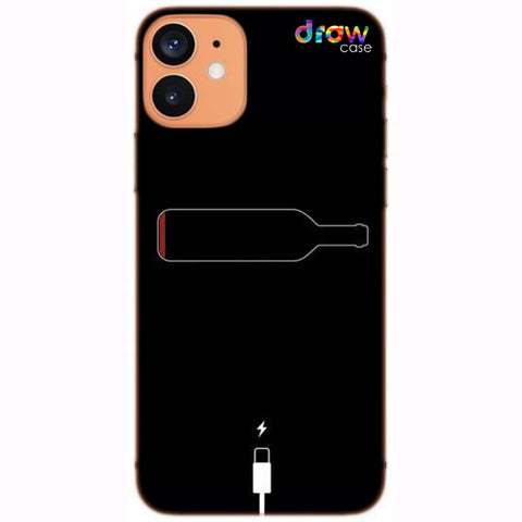 Cover iPhone 12 Low Wine