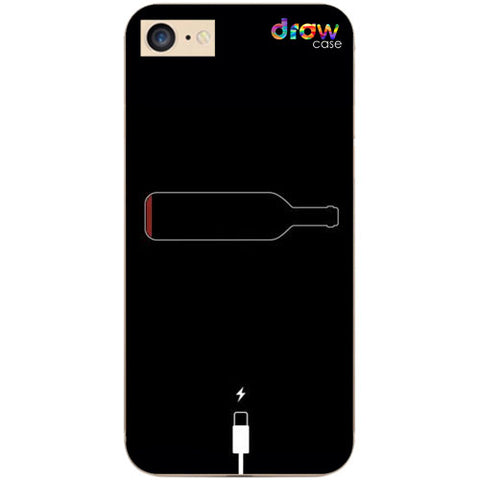 Cover iPhone 7/8/SE 2020 Low Wine