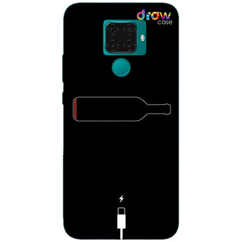 Cover Huawei Mate 30 Lite Low Wine