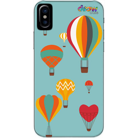 Cover iPhone Xs Max Mongolfiera