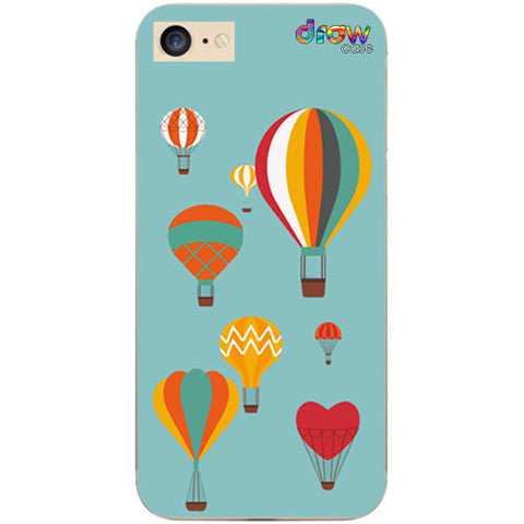 Cover iPhone 7/8/SE 2020 Mongolfiera
