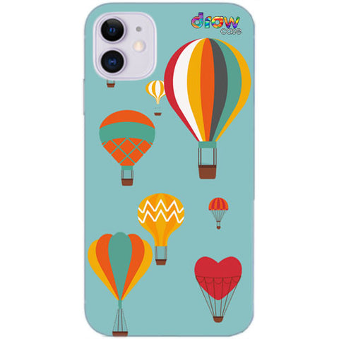 Cover iPhone 11 Mongolfiera