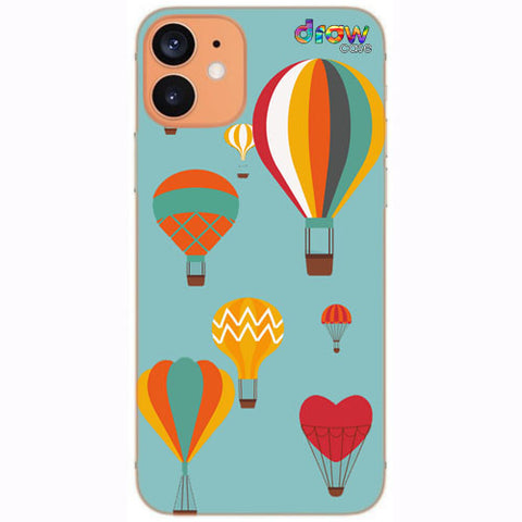 Cover iPhone 12 Mongolfiera