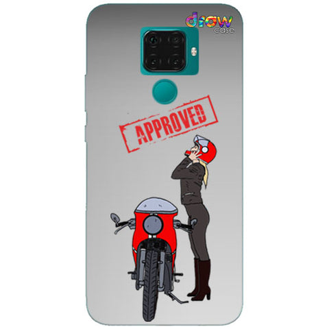Cover Huawei Mate 30 Lite Moto Girl