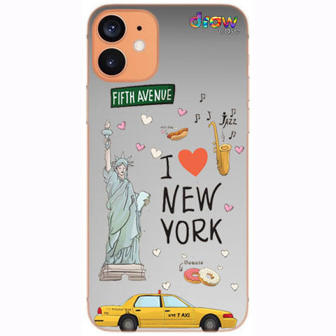 Cover iPhone 12 Mini New York