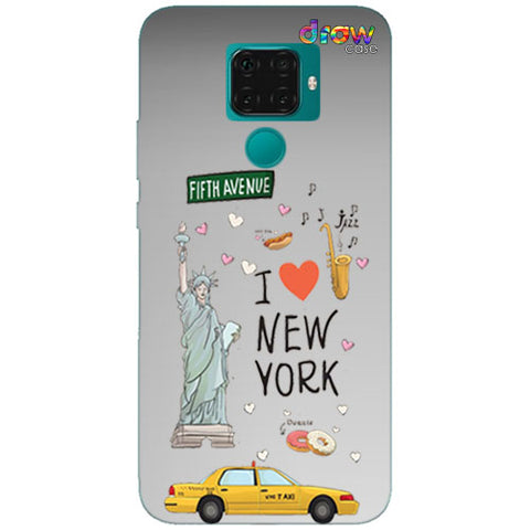 Cover Huawei Mate 30 Lite New York