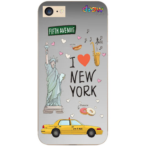 Cover iPhone 7/8/SE 2020 New York