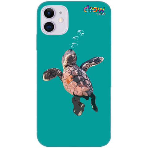 Cover iPhone 11 Turtle