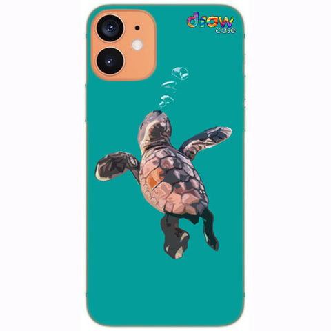 Cover iPhone 12 Mini Turtle