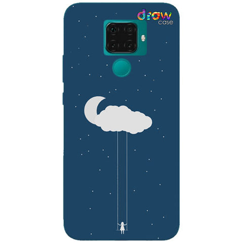 Cover Huawei Mate 30 Lite Cloud Girl
