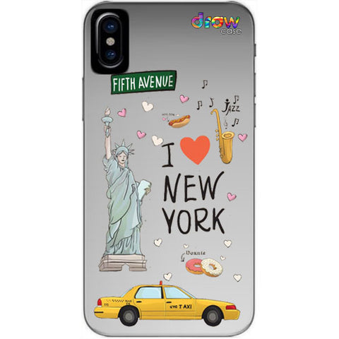 Cover iPhone Xs Max New York