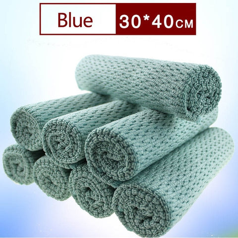 Thicker Microfibre Wipes Table Window Tools Easy Cleaning Absorbent  Portable Kitchen Towel  1 PC Cleaning Cloth