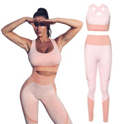 Seamless Backless Gym Clothing Suits for Fitness