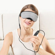 Steam eye mask female usb heating compression sleep eye massager
