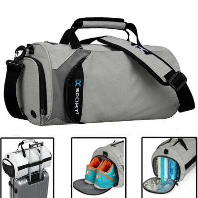 Men Gym Bags For Fitness Training Outdoor Travel Sport Bag Multifunction Dry Wet Separation Bags Sac De Sport
