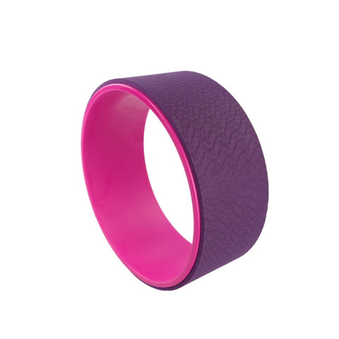 Yoga Pilates Circle TPE Yoga Fitness Roller Wheel Back Training Tool Slimming Magic Waist Shape Pilates Ring yoga accessories